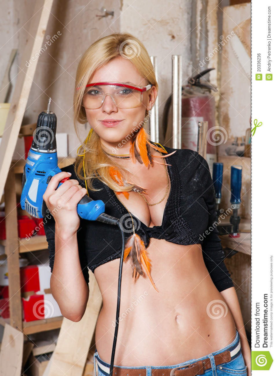 ... Carpentry Shop Carpenters Royalty Free Stock Image - Image: 20336236