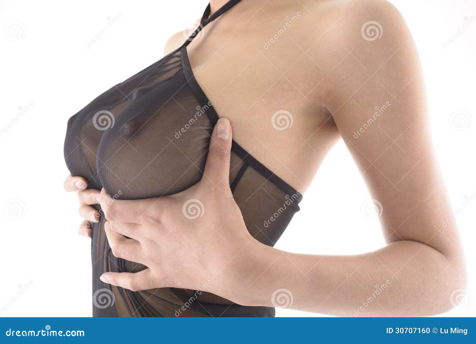 Стоячий женский грудь 12 фотография