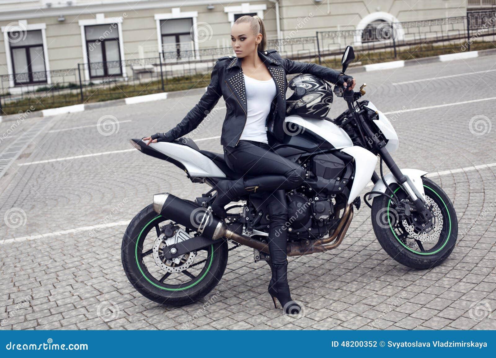 Women Moto Jacket