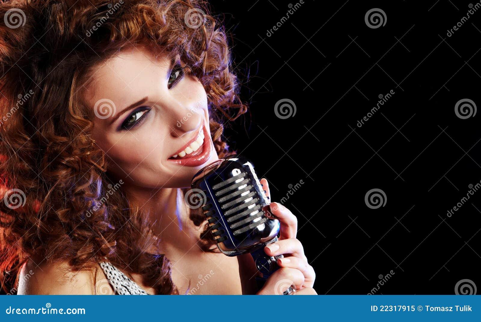 singing the girl retro - photo #1