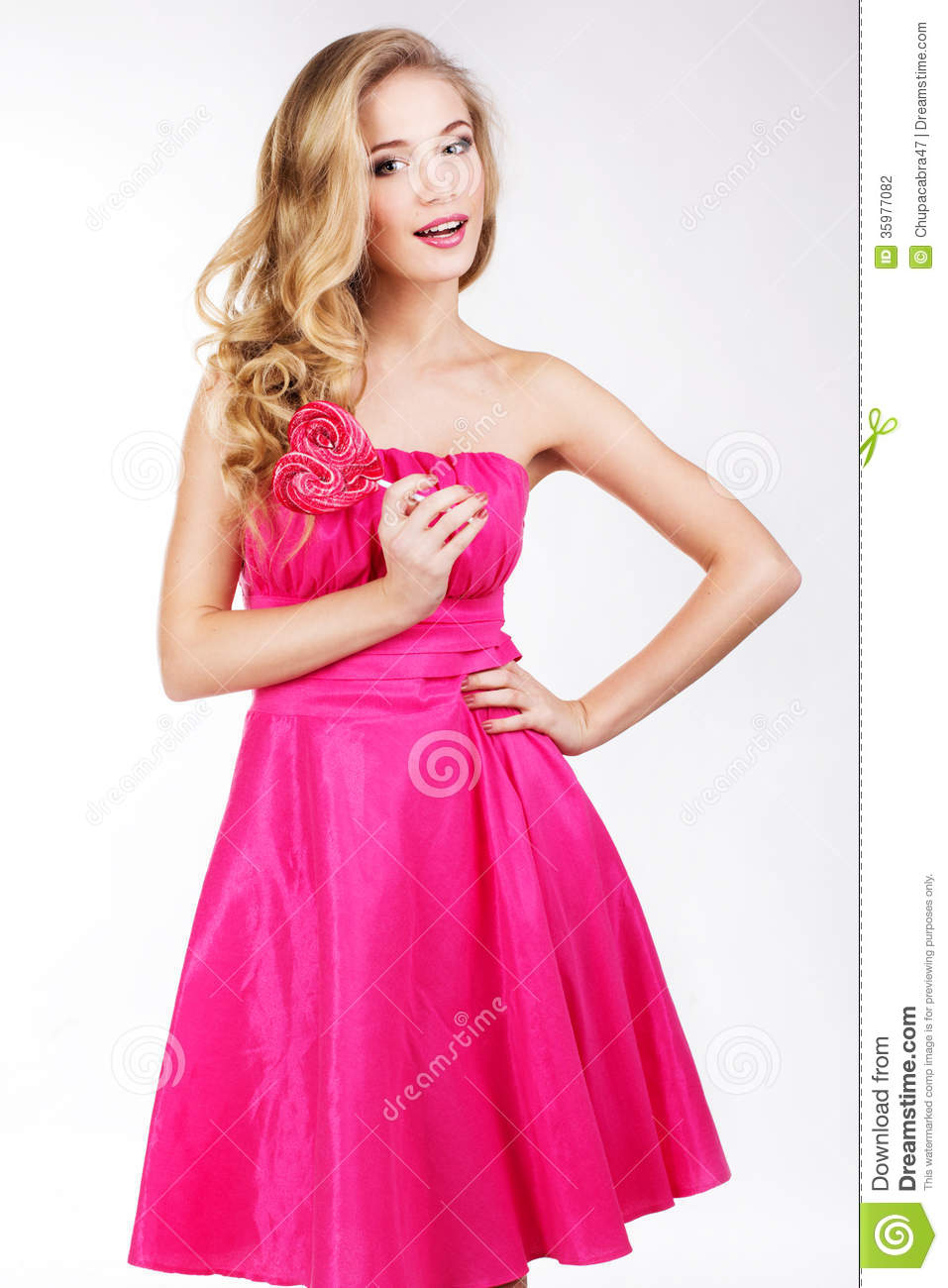 https://thumbs.dreamstime.com/z/sexy-girl-wearing-pink-dress-candy-valentine-s-day-35977082.jpg Hot Pink Dress For Girls