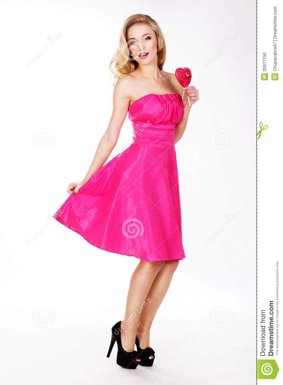 https://thumbs.dreamstime.com/z/sexy-girl-wearing-pink-dress-candy-valentine-s-day-35977150.jpg Hot Pink Dress For Girls