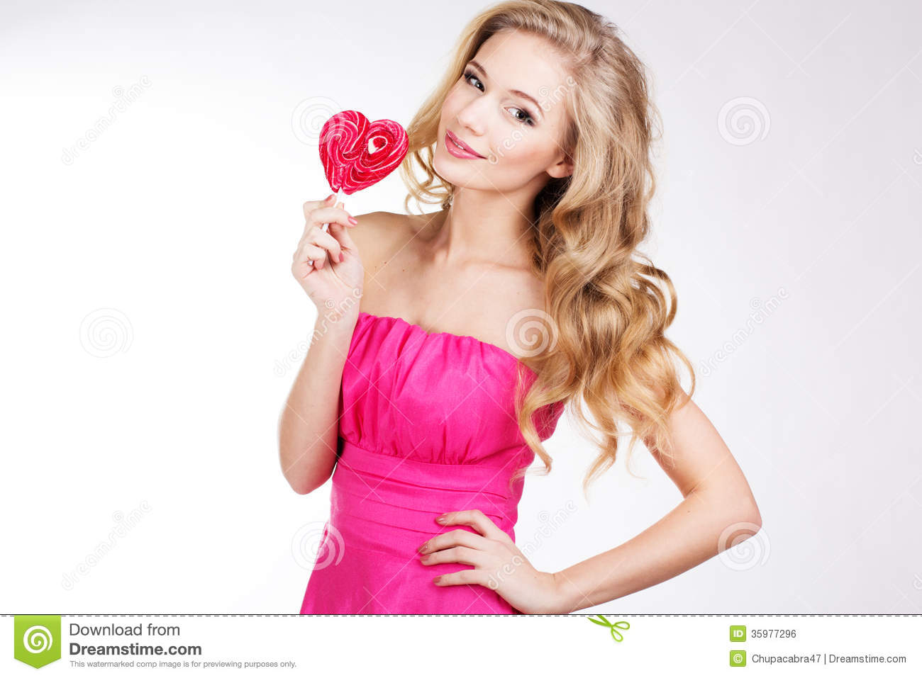 https://thumbs.dreamstime.com/z/sexy-girl-wearing-pink-dress-candy-valentine-s-day-35977296.jpg Hot Pink Dress For Girls