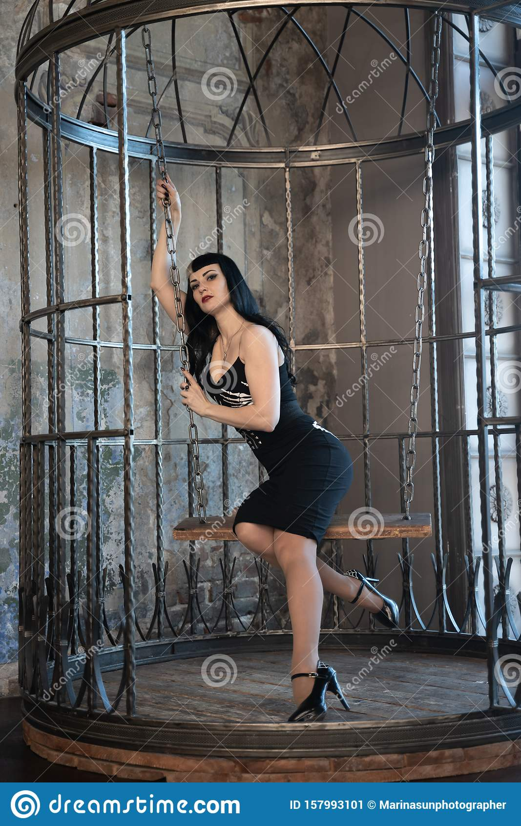 Hot gothic girl