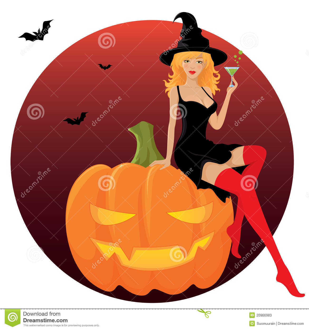 sexy halloween witch stock photos image 20966983 trick or treat clip art free images trick or treat clipart black and white