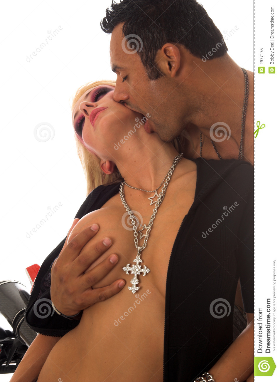 Sexy Couple Kissing 57