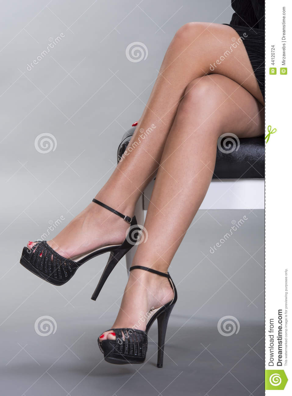 Sexy Legs And High Heels Stock Photo Image 44120724