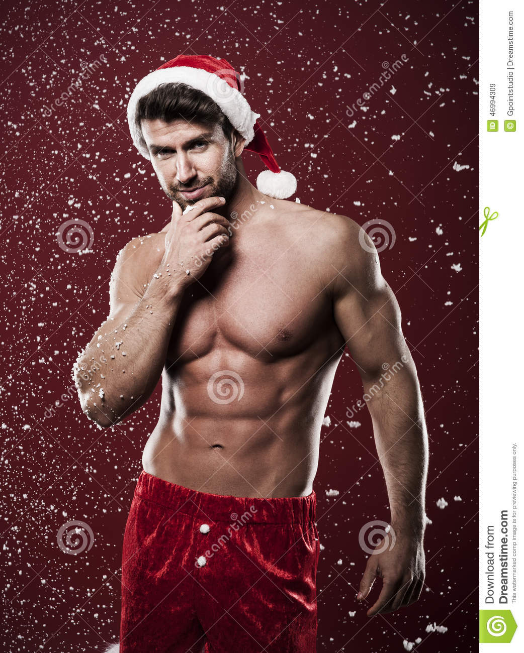 pictures sexy men christmas