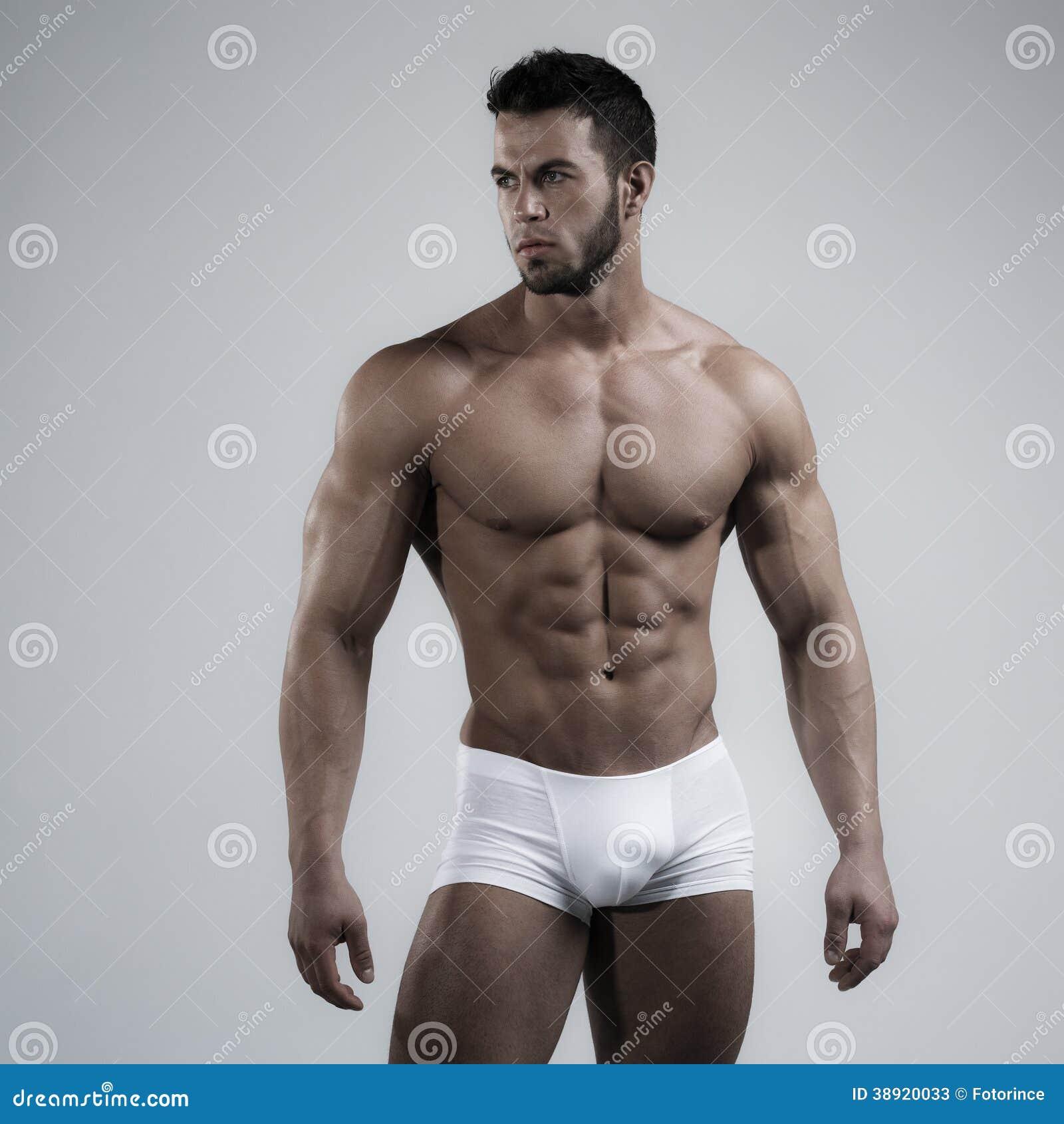 Sexy Man In Studio Stock Photo - Image: 38920033