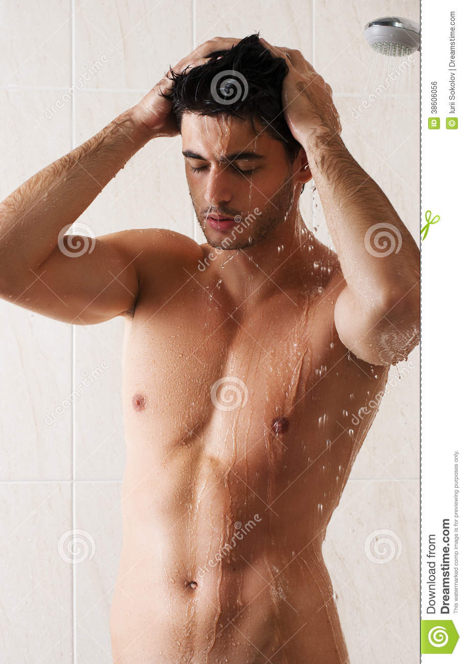 Seems me, sexy black male in the shower consider