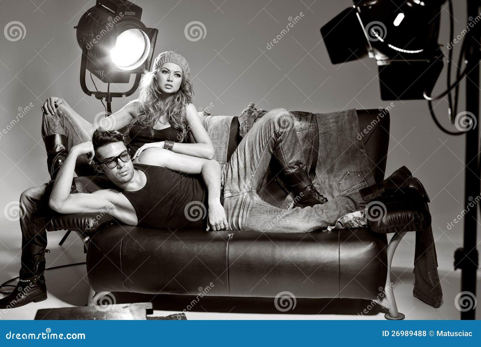Free Stock Photos  Sexy Man And Woman Doing A Fashion Photo Shoot