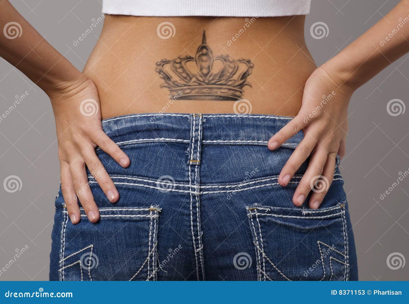 model wearing designer jeans
