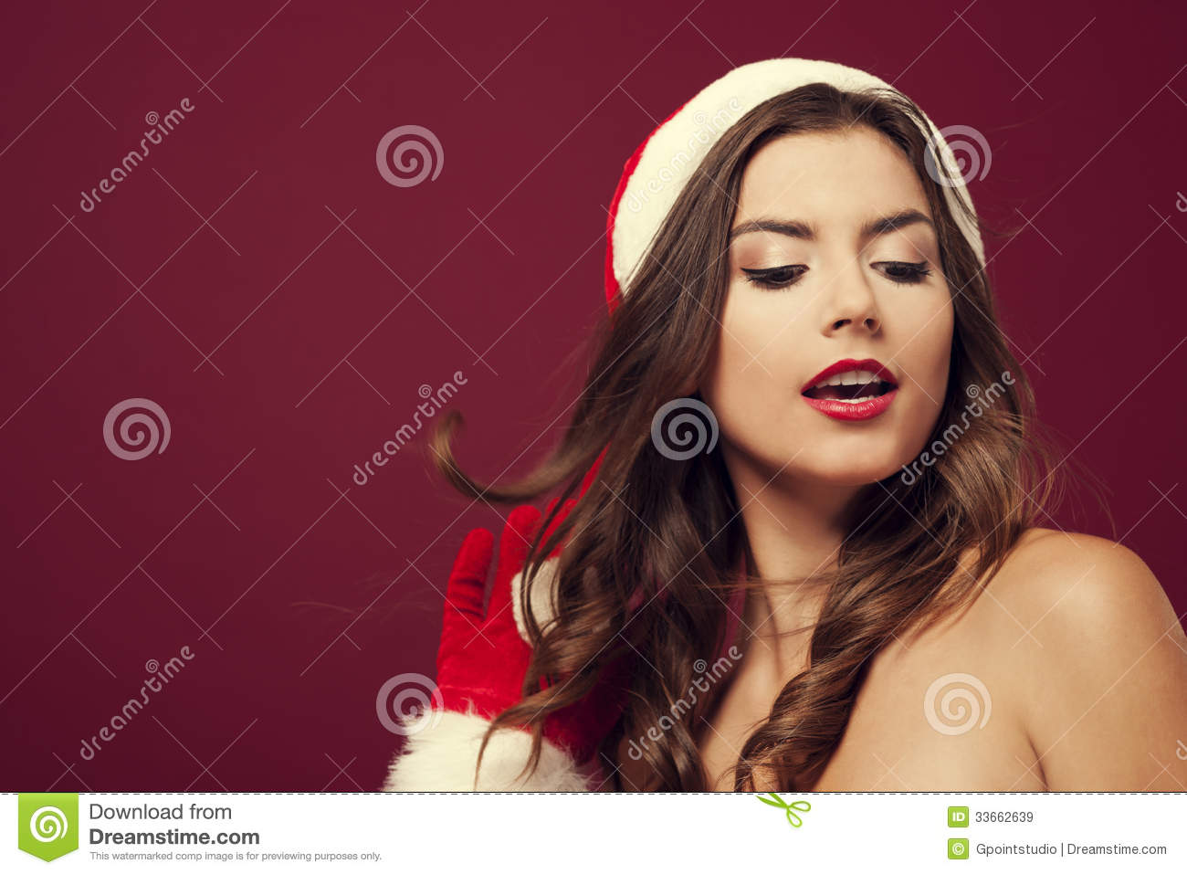 Sexy Mrs. Claus Royalty Free Stock Images - Image: 33662639