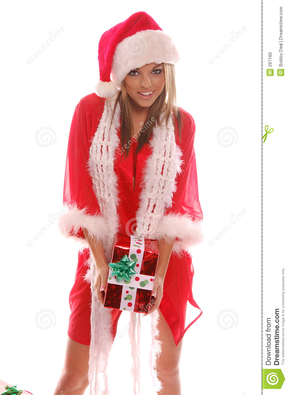 Sexy Mrs Santa Claus Stock Photo - Image: 297160