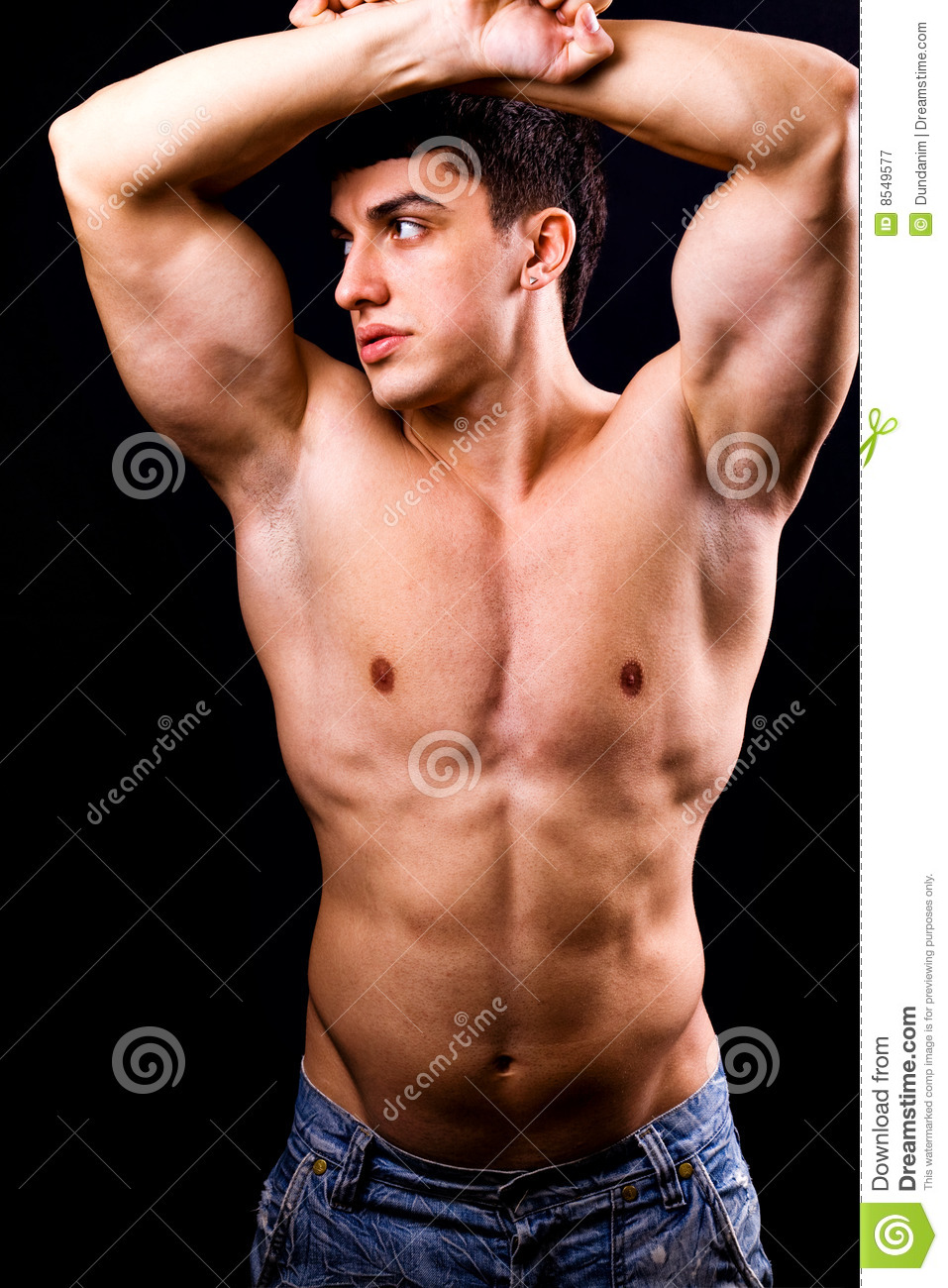 Sexy muscle body