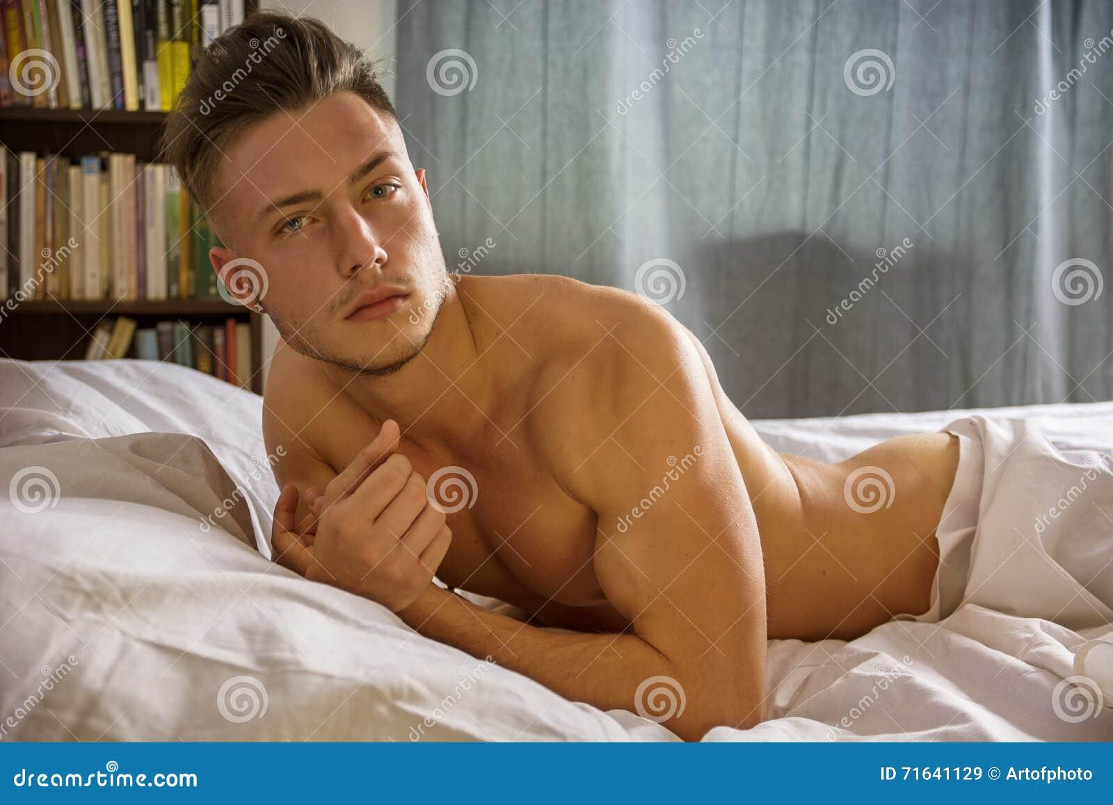 Sexy nackter Mann Bild
