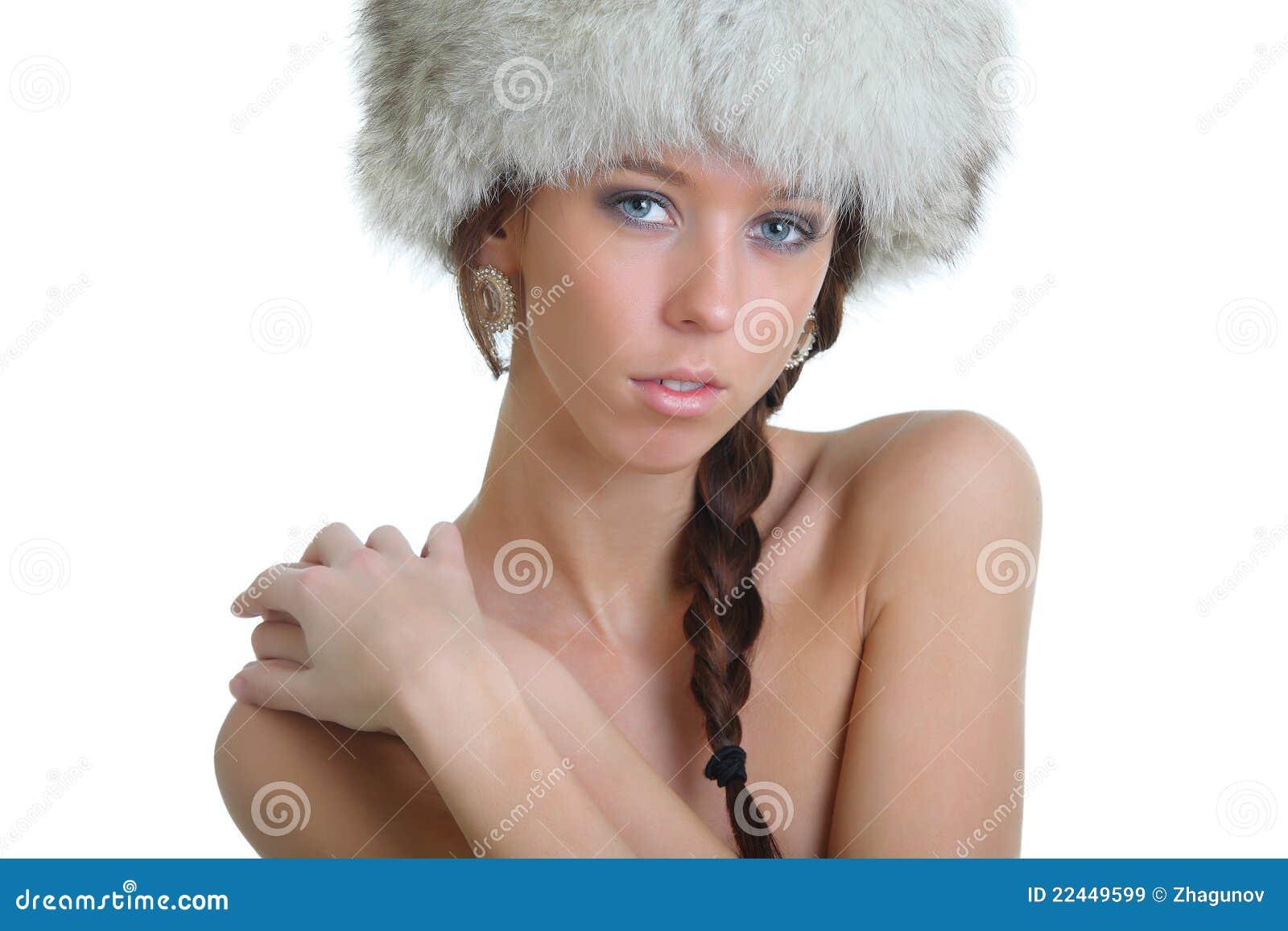 girls naked in fur