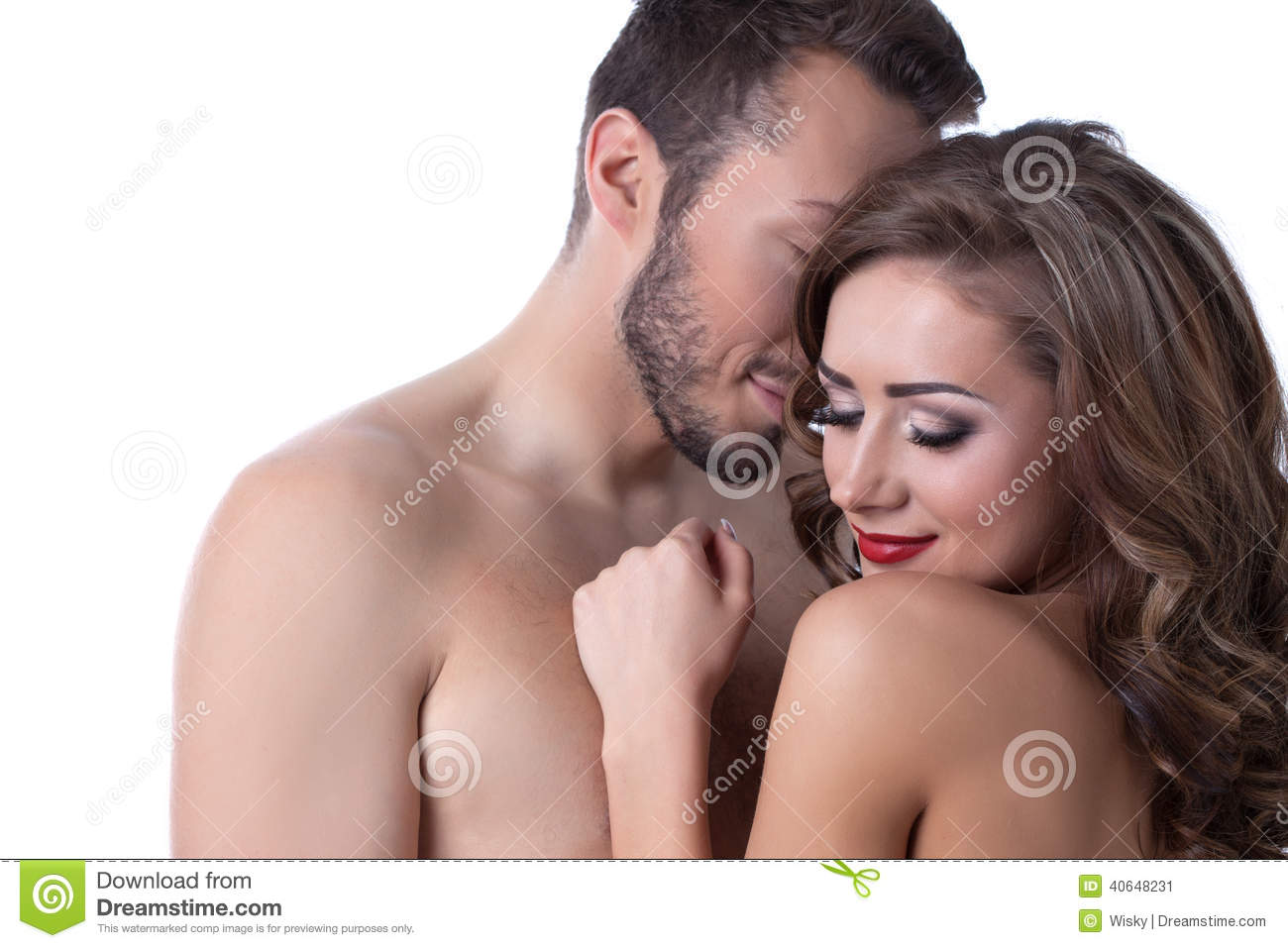 image Sensual indian couple lovers from india