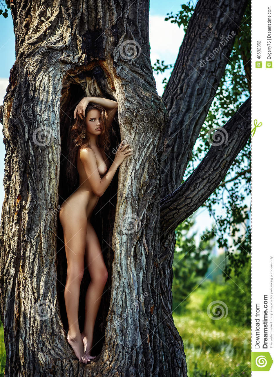 Naked women with gaping pussy