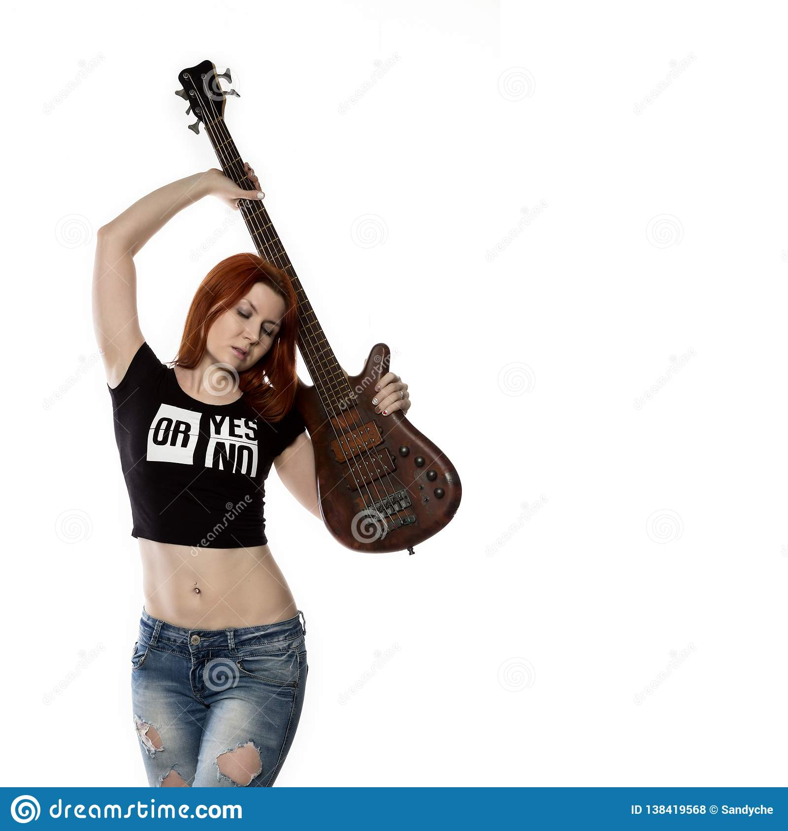 Are certainly sexy girl playing electric guitar charming message