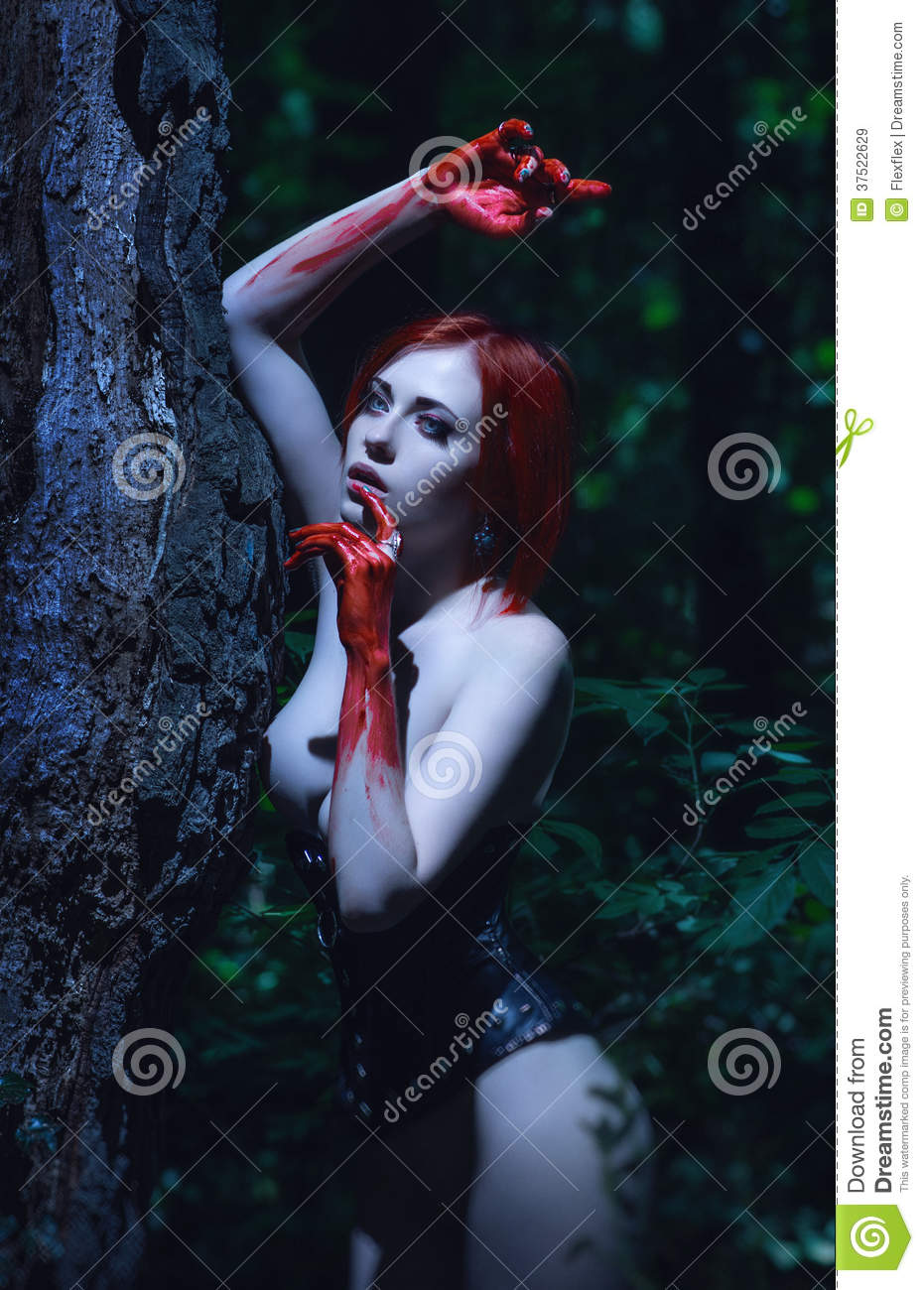 Sexy nude vampire women remarkable