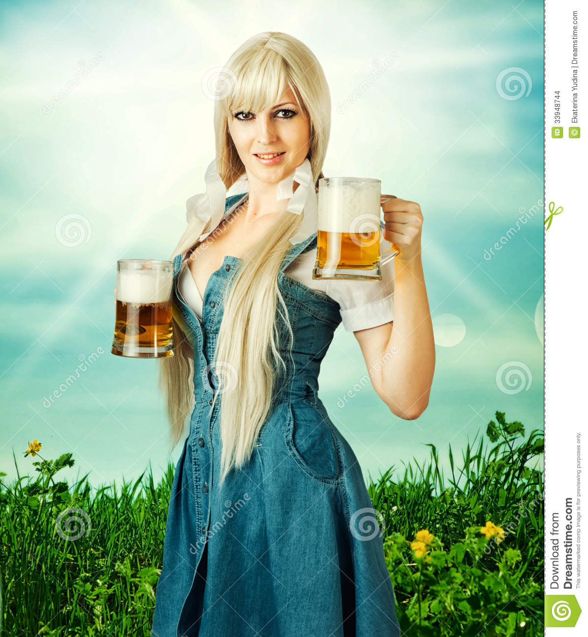 http://thumbs.dreamstime.com/z/sexy-oktoberfest-woman-beer-young-wearing-dirndl-holding-two-mugs-33948744.jpg