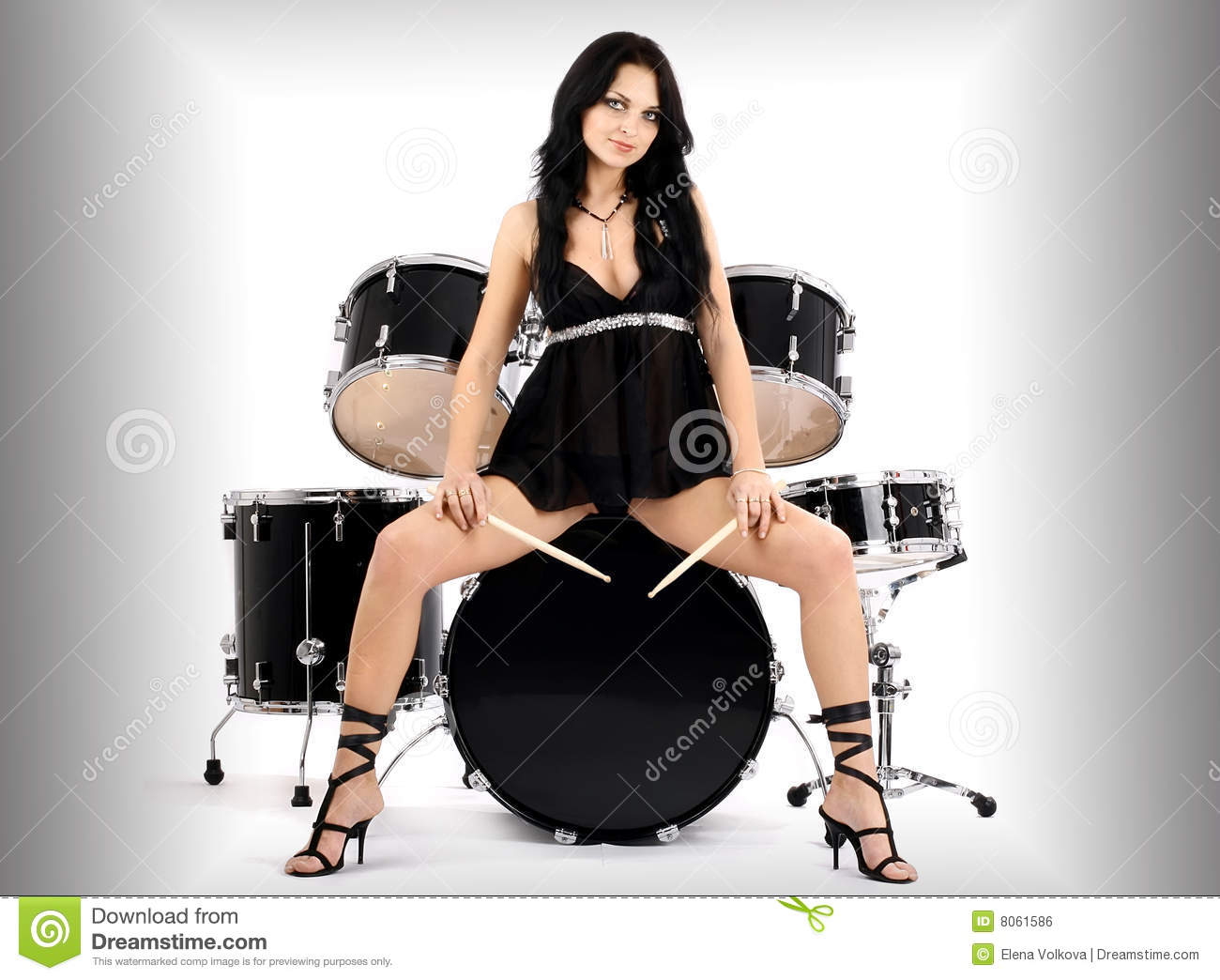 Assured, what Sexy female drummer free photos bad