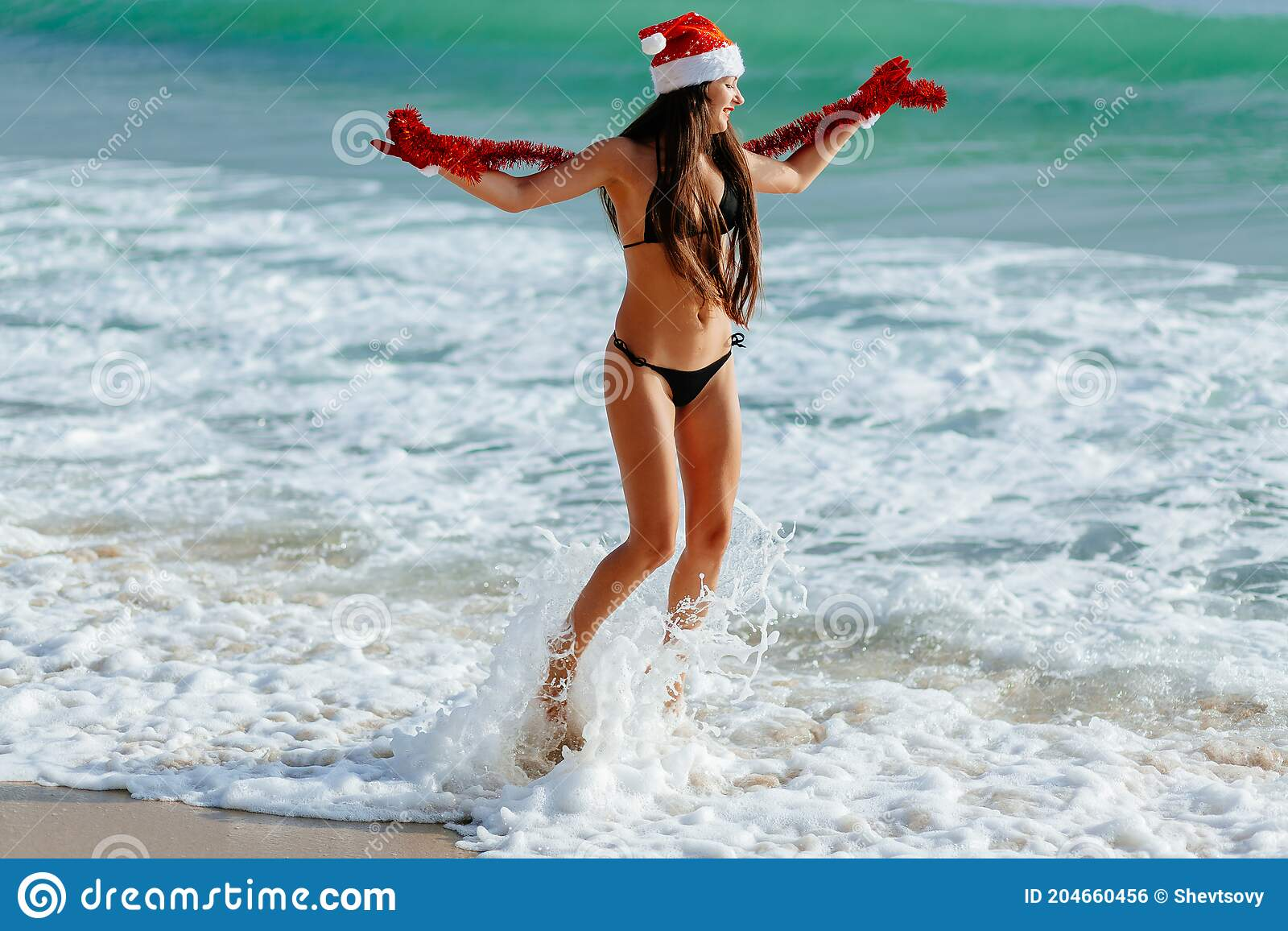 Beach hot naked teen