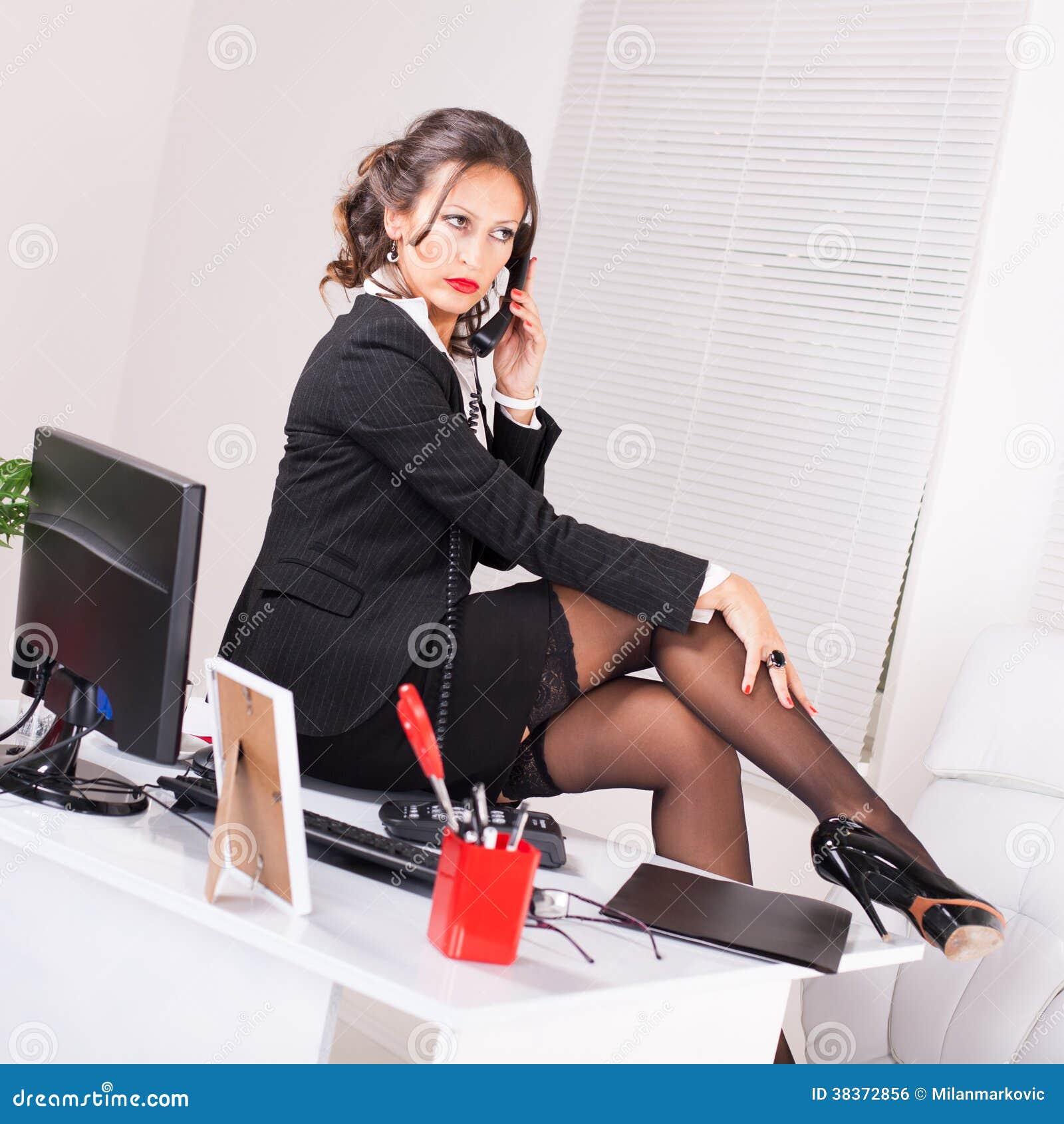 Secretary Stock Photo Image Of Flirting, Woman -9104