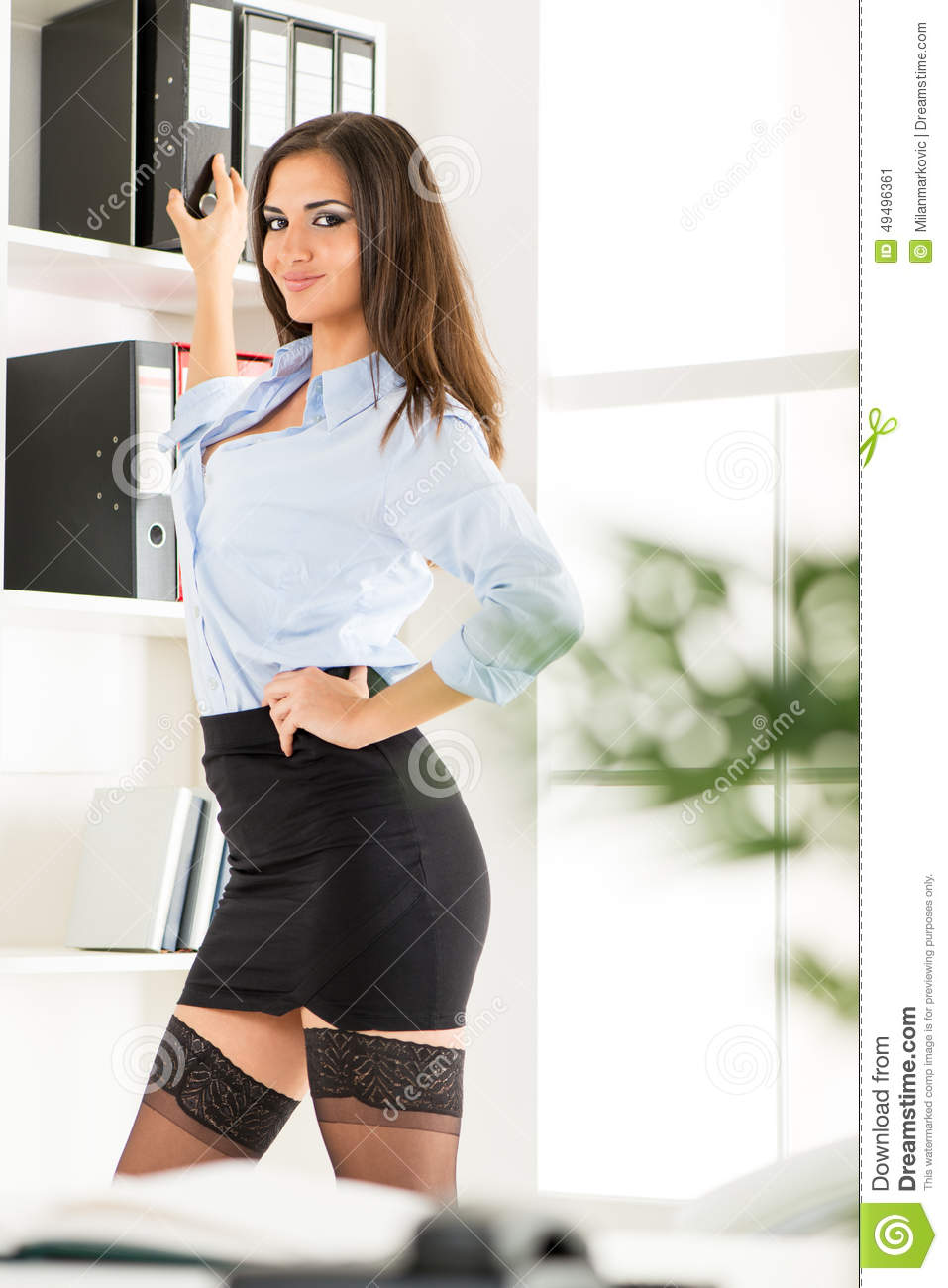 skirt secretary pinterest Short