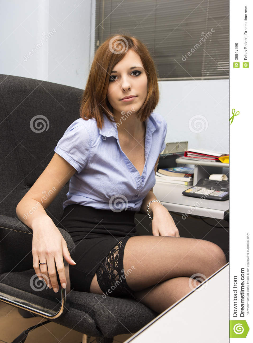 Secretary Stock Photo Image Of Corporation, Face, Black - 36947698-7335