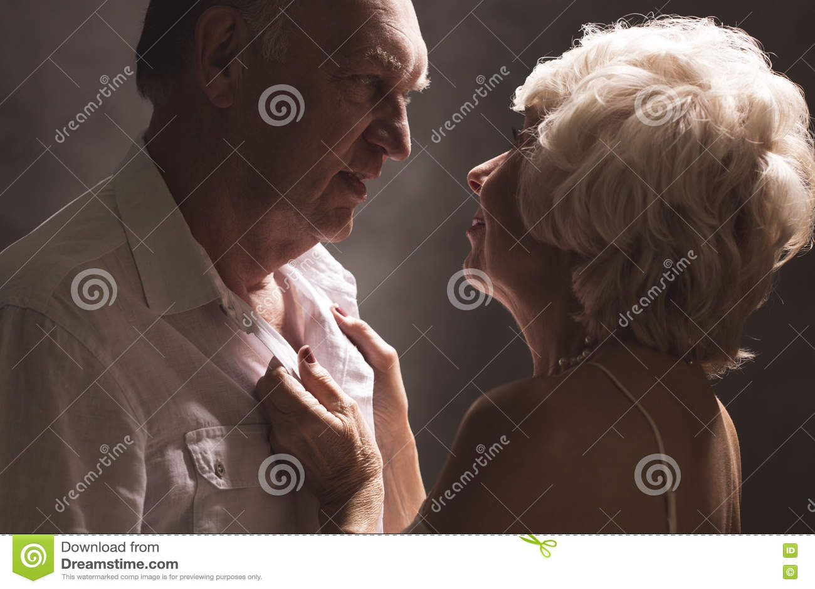 Senior couple sex