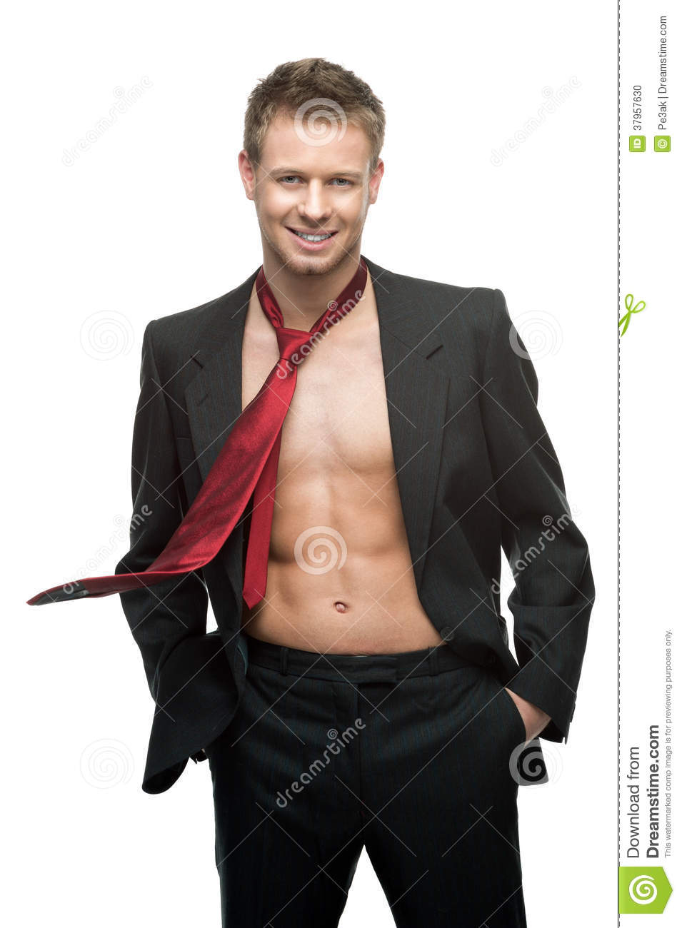 Gay man dressed in leather in officer 10