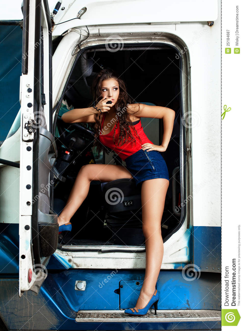 Truck Driver Royalty Free Stock Photography - Image: 25184687