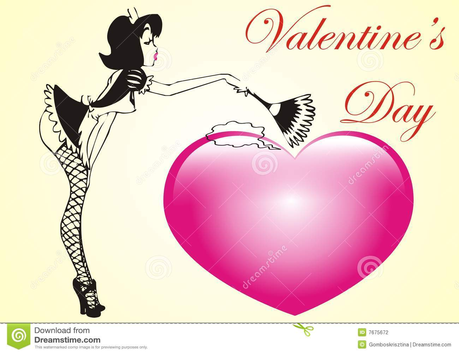 Sexy valentine heart jpeg