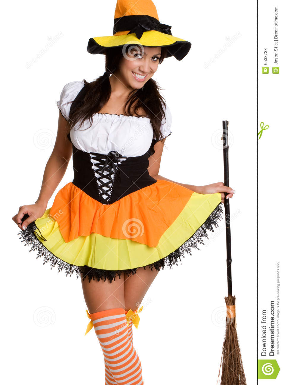 Witch Costume Royalty Free Stock Photos - Image: 6533738