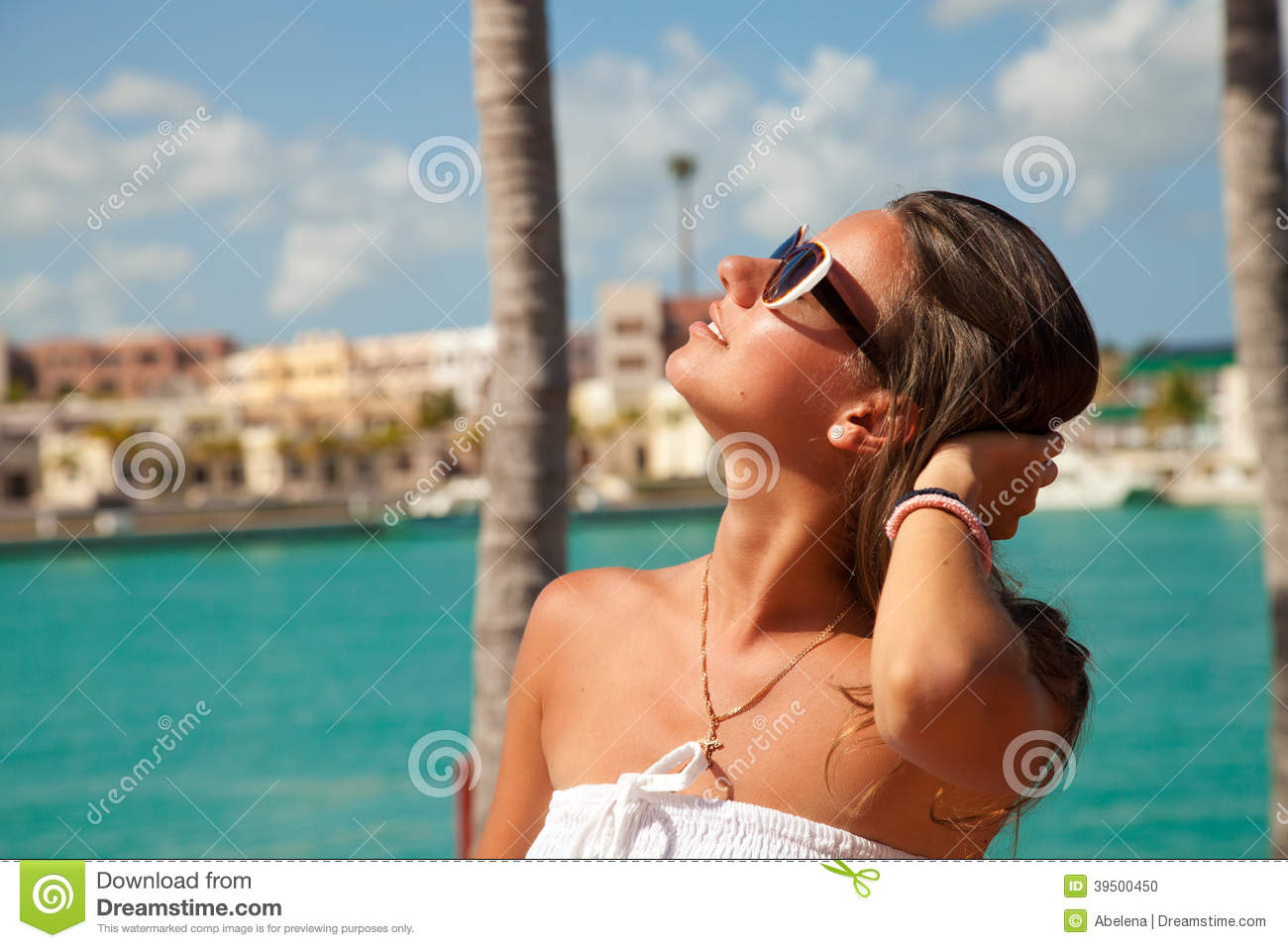woman in Cap Cana