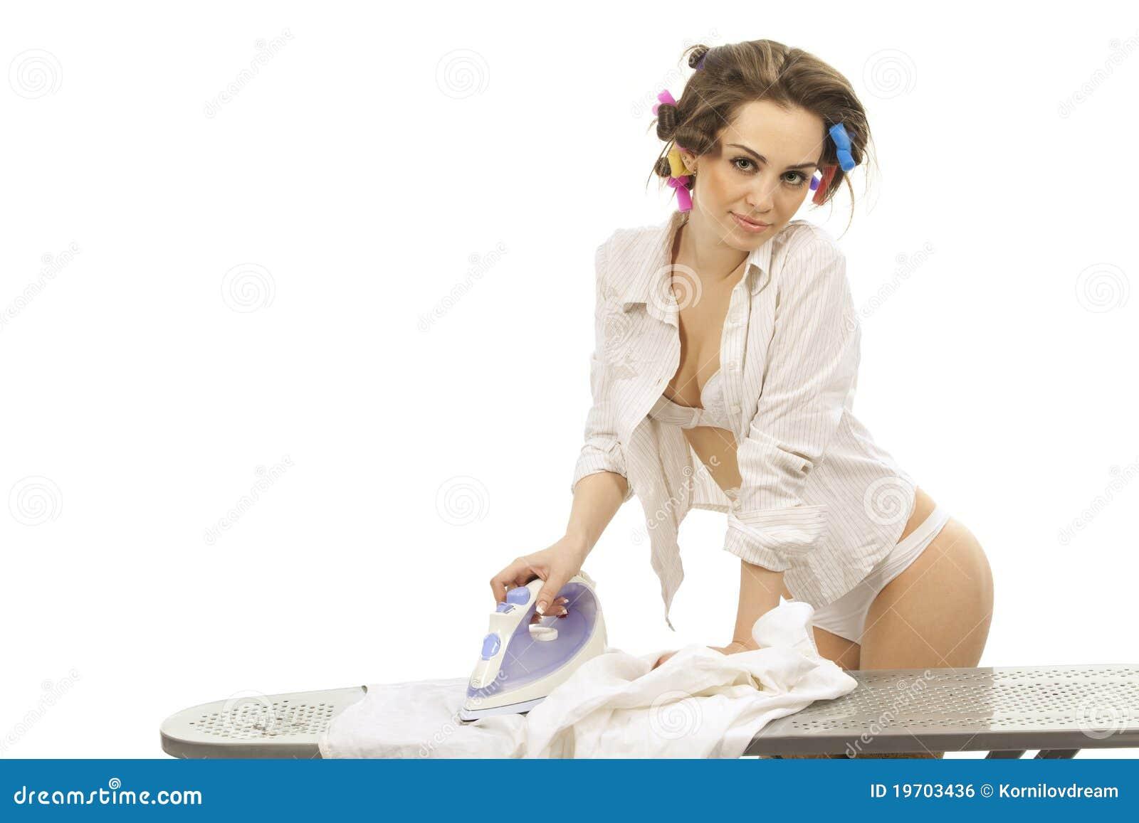ironing sexy