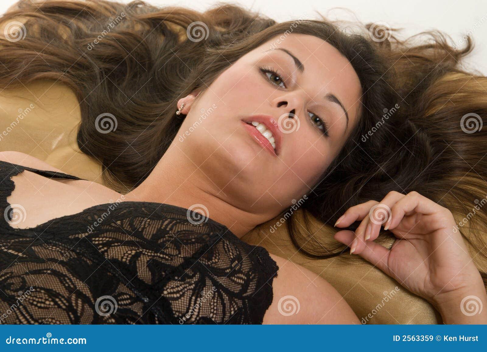 naked girls lying down