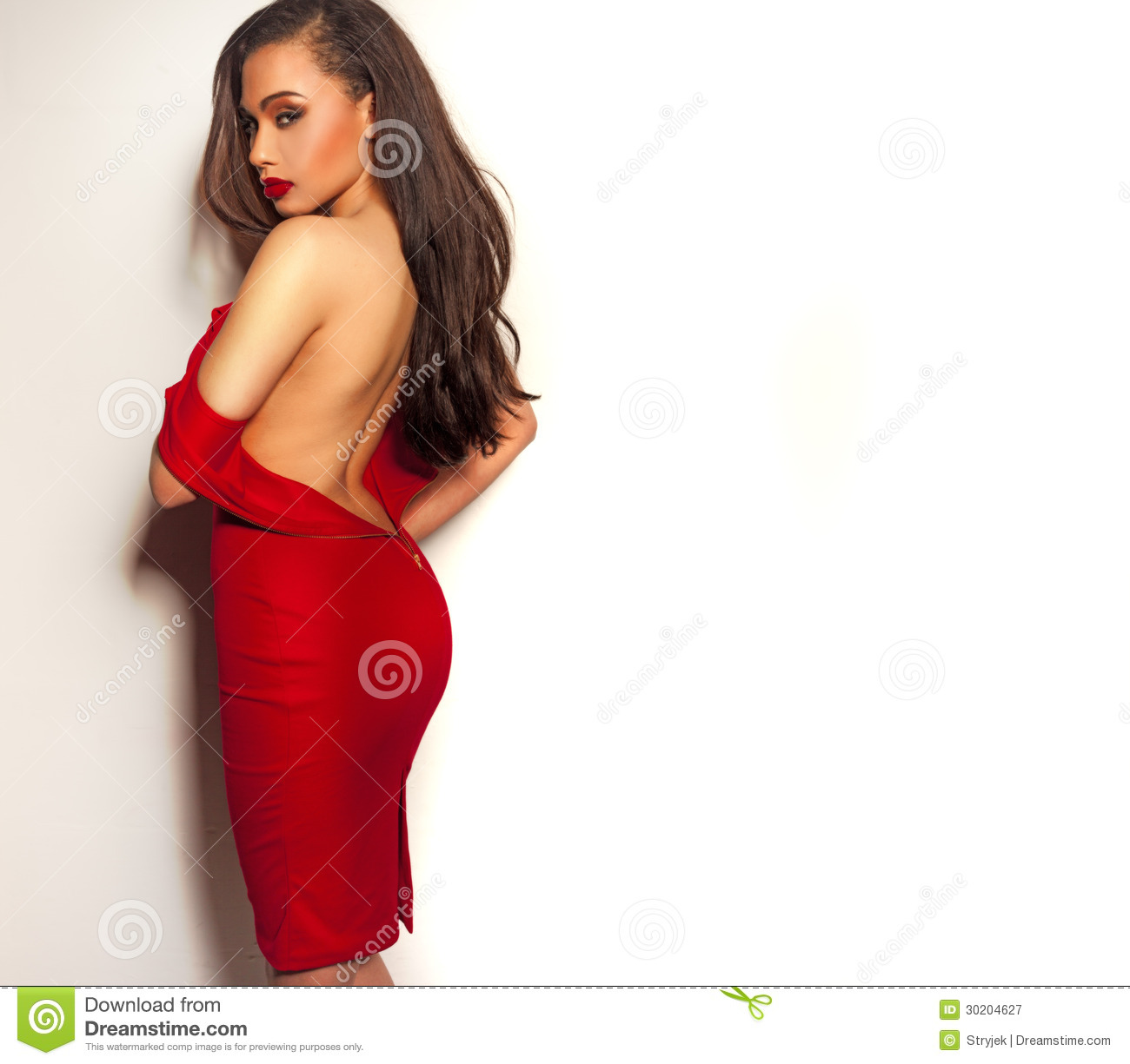 Sexy Sultry Young Woman Royalty Free Stock Photography ...