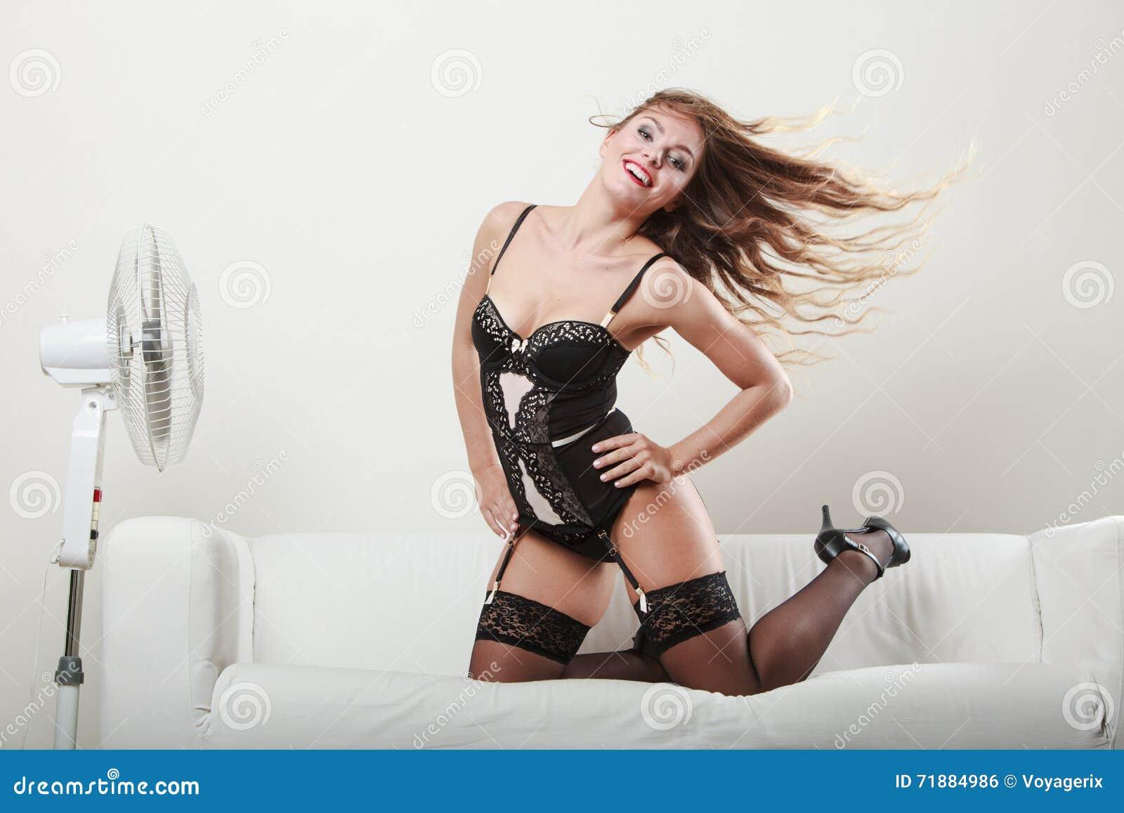 Sensual fanatic with a big black cock