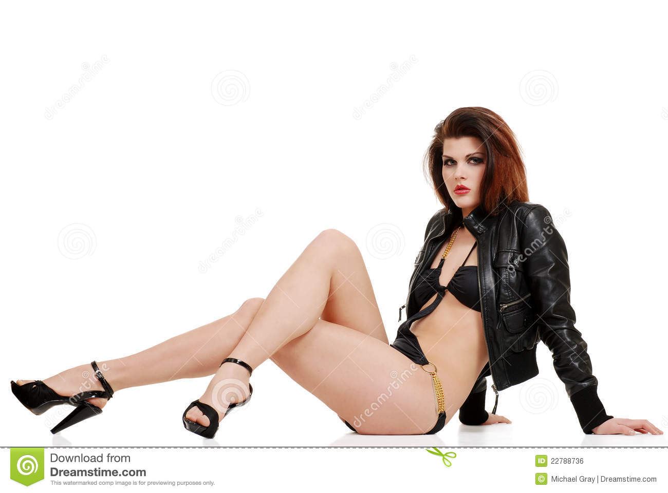 Female sexy leather for woman