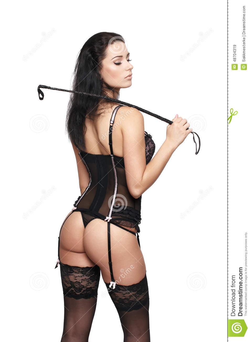 Erotic strip and whip