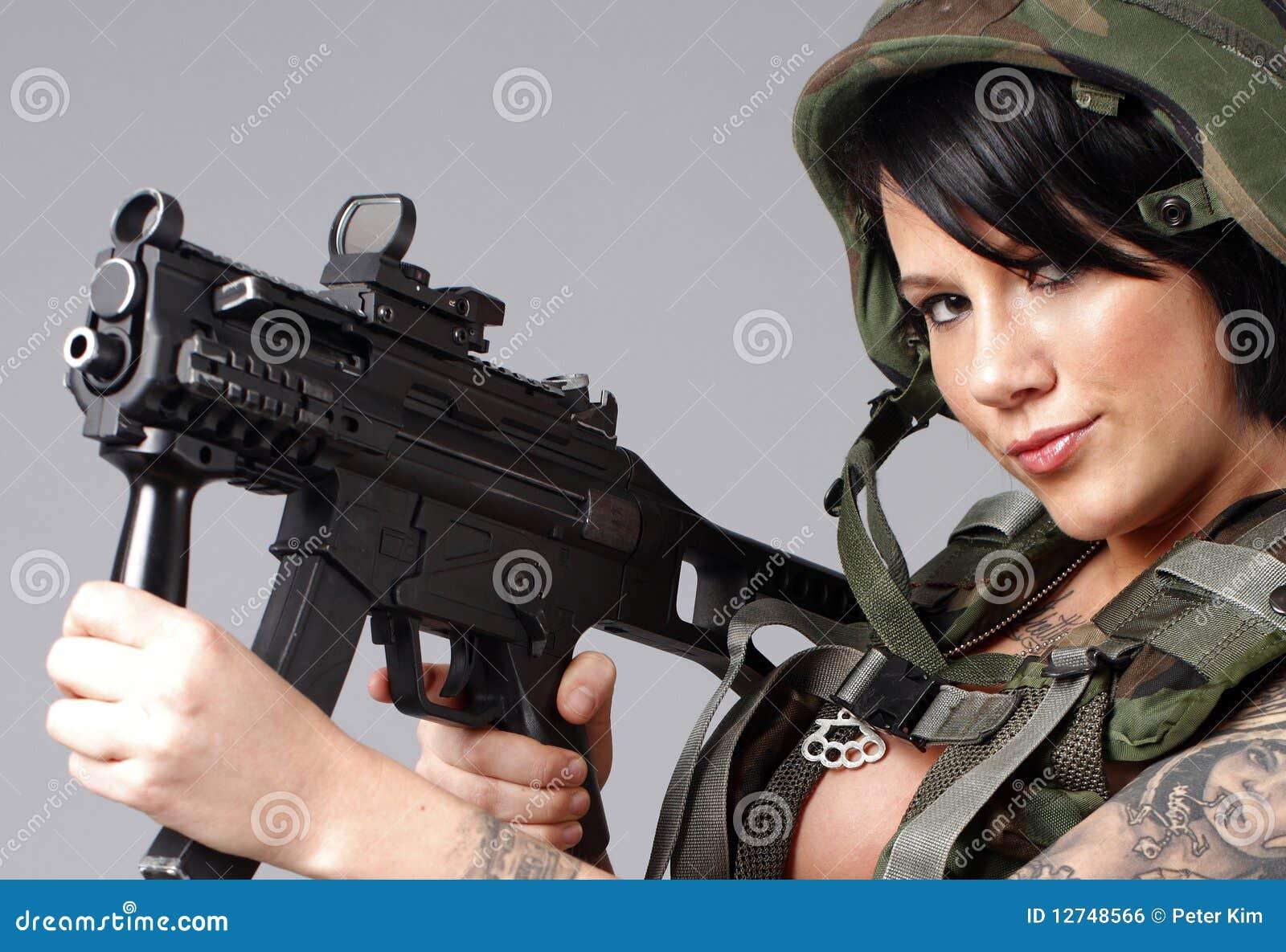 Sexy army wear