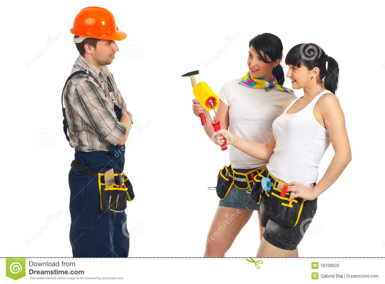 how to flirt with a construction worker