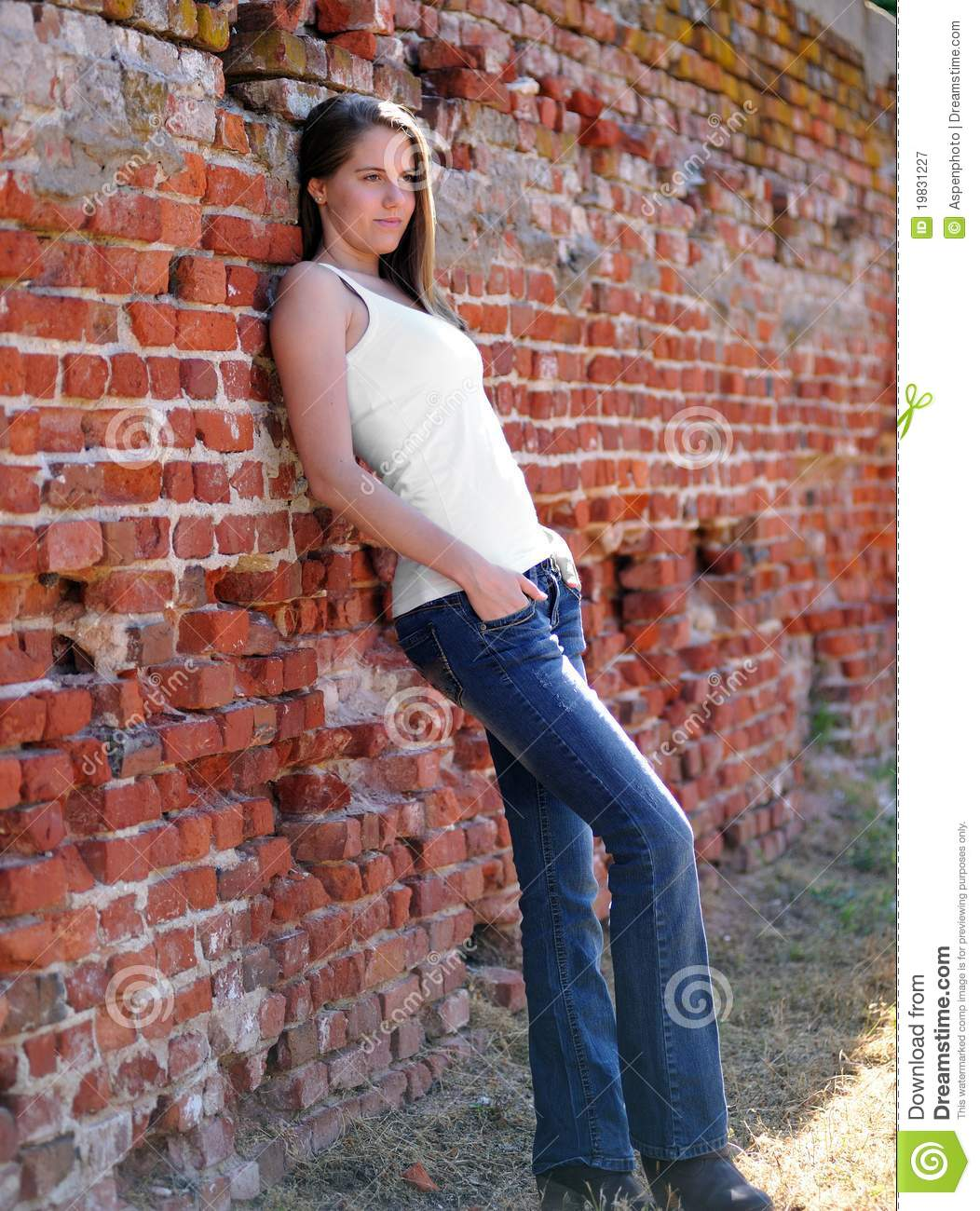 House wife and against the wall   Adult photos)