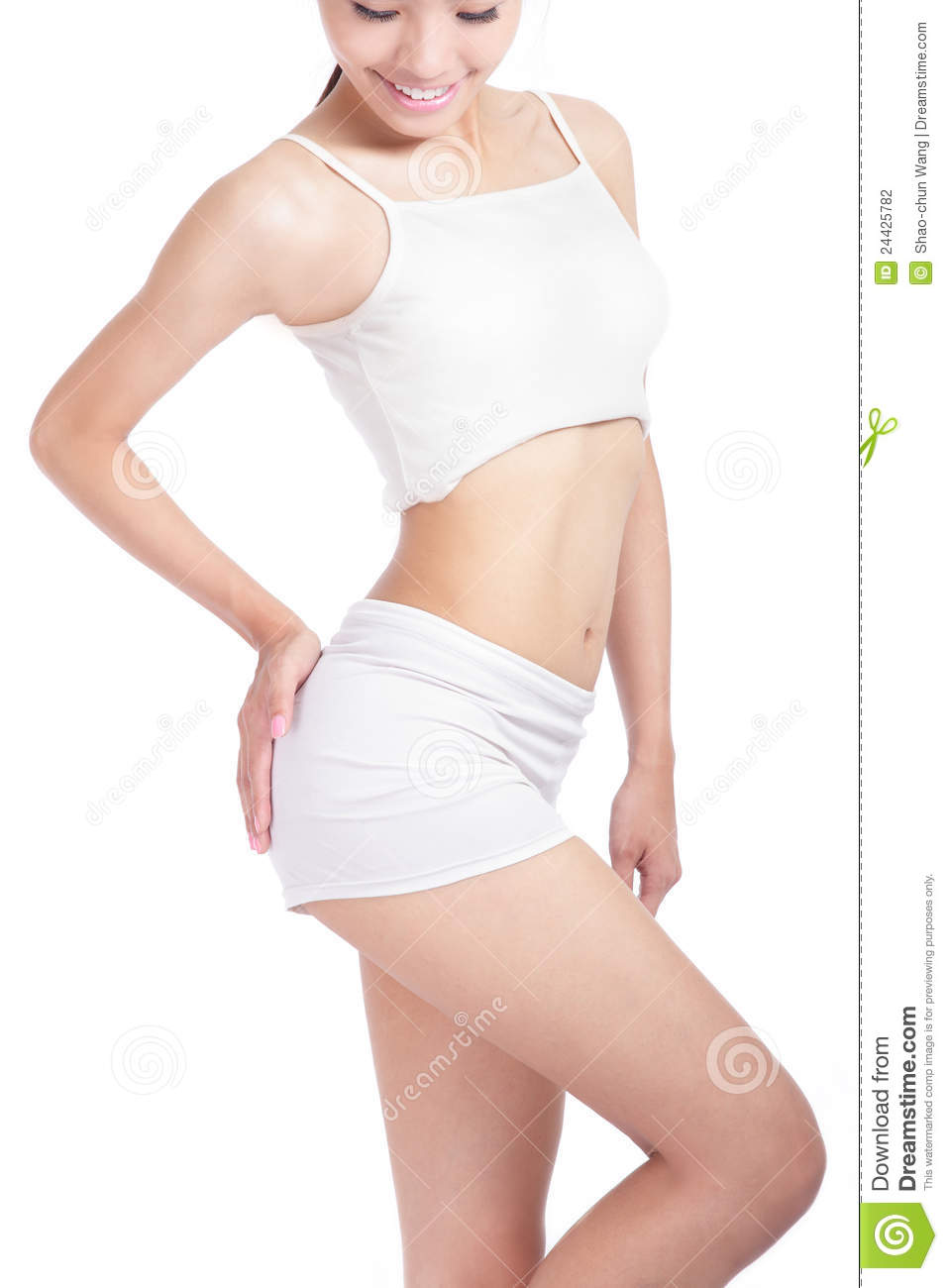 Sexy body without face regret