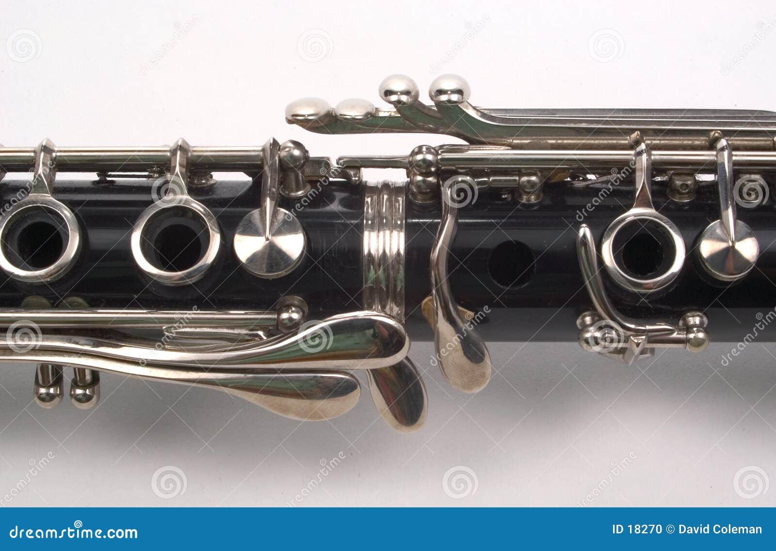 Download Sezione di Clarinet fotografia stock. Immagine di musicista - 18270