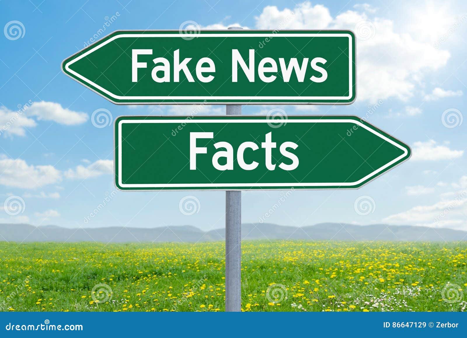Sfałszowana wiadomość lub fact
