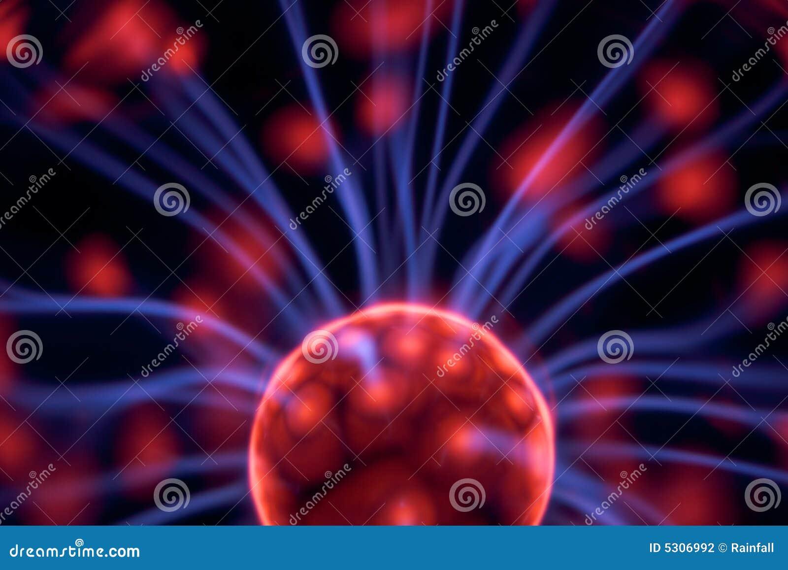 Download Sfera del plasma fotografia stock. Immagine di potenza - 5306992